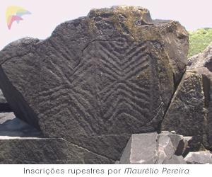Inscrições Rupestres da Ilha do Campeche